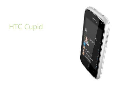 White HTC Phone