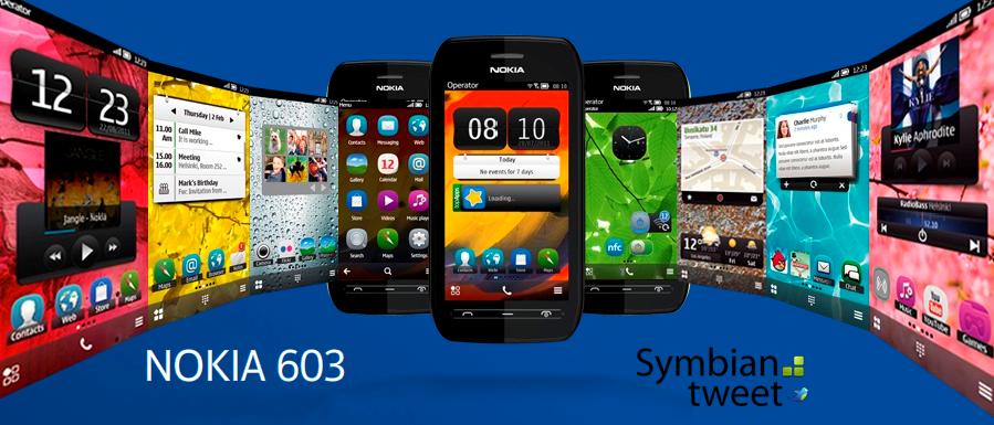 Nokia 603 specs