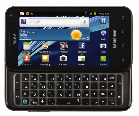Samsung Captivate Glide QWERTY Specs