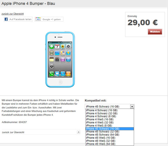 iphone 4s vodafone