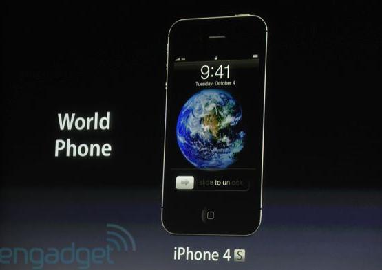 iPhone 4S Specs