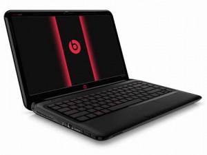 Laptop with beats audio
