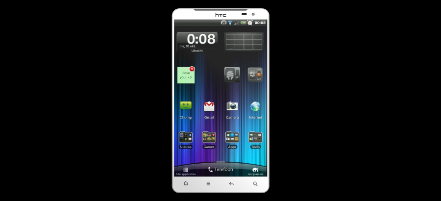 HTC Classic Android 4.0