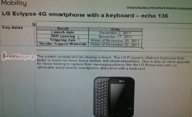 Lg Ecylpse bell price