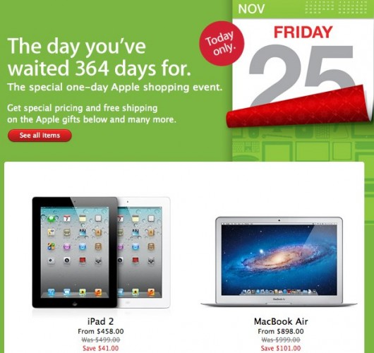 Discount on iPad 2