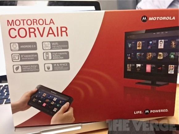 Motorola Corvair Tablet