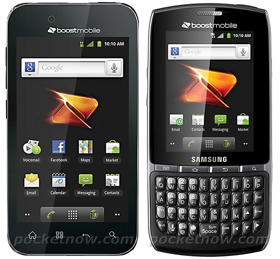 Lg Optimus Black and Samsung Replenish