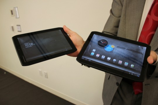 Veriozn Droid Xyboard Tablets