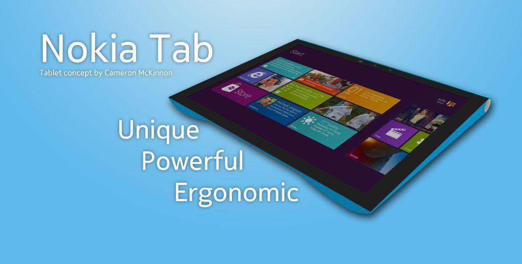 Nokia with Windows 8 Tab