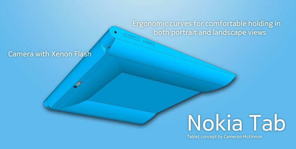 Nokia Tab back