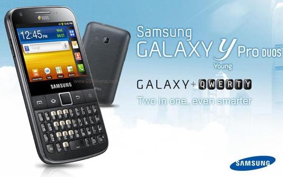 Galaxy Y Pro Duos