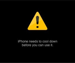 iPhone overheating issue