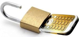unlocking cell phone