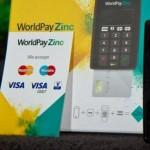 WorldPay Zinc Card Reader