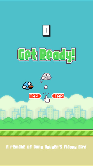 flappy returns - tap to flap