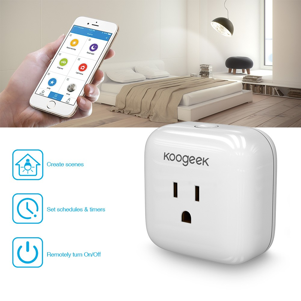 controlling home appliances with KooGeek