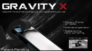 gravity x cell phone holder