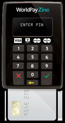 WorldPay Zinc credit card reader