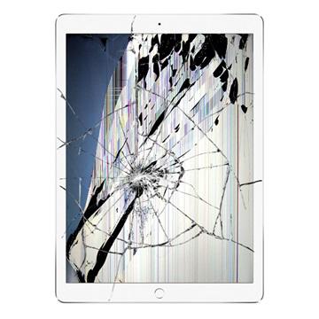 iPad Pro 12.9 cracked screen