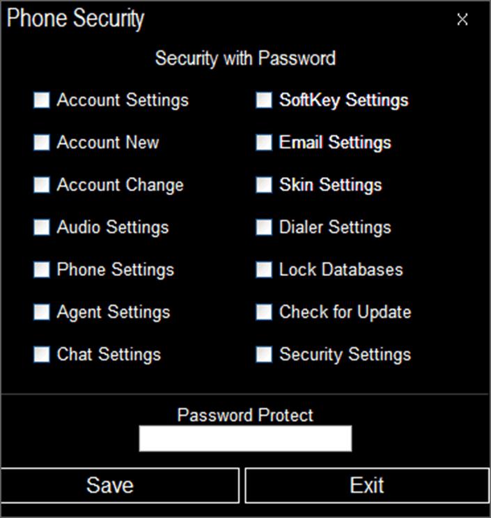 VitalPBX security
