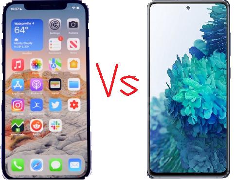 iPhone 12 vs. Galaxy S20